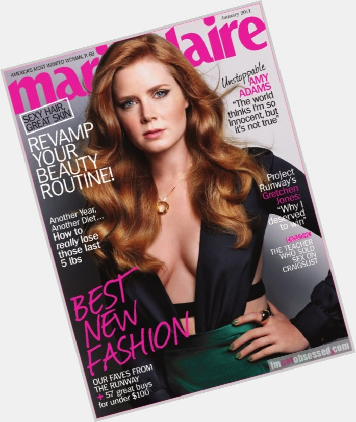 Is amy adams a natural redhead