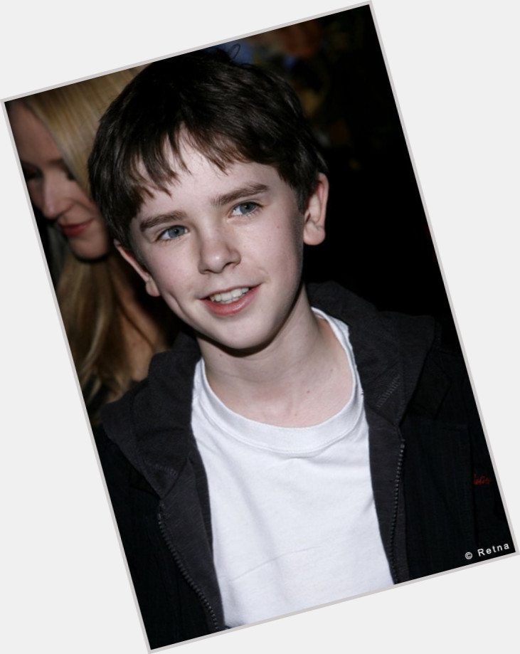 Freddie Highmore Official Site For Man Crush Monday Mcm