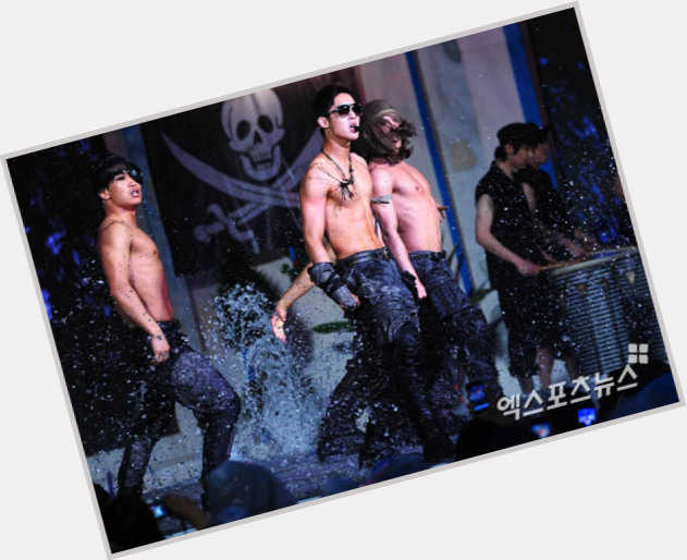 Hyun Joong Kim shirtless bikini