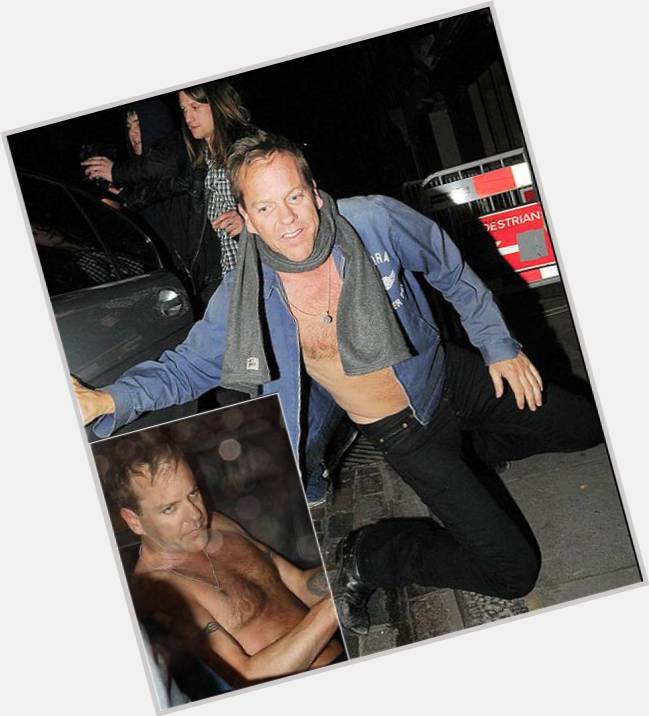 Kiefer Sutherland Official Site For Man Crush Monday