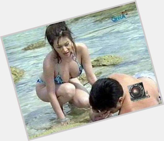 Rufa mae quinto in a thong bikini speaking