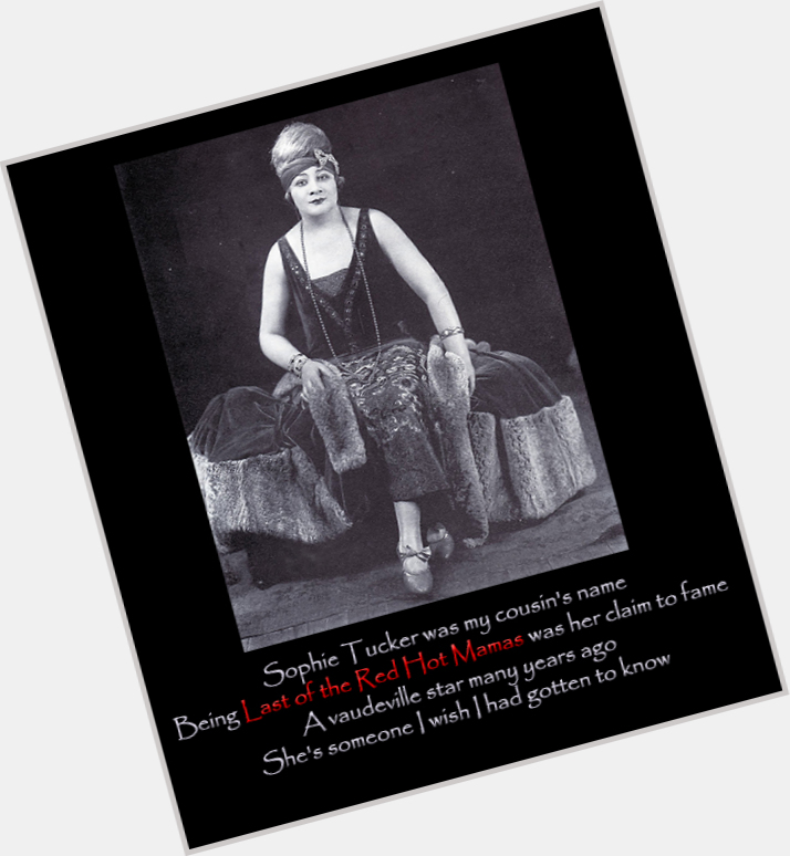 Sophie Tucker new pic 10.jpg