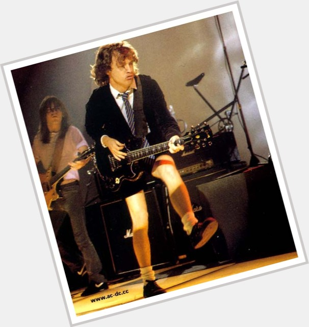 Angus Young Official Site For Man Crush Monday Mcm