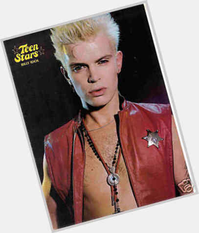 Billy Idol Official Site For Man Crush Monday Mcm