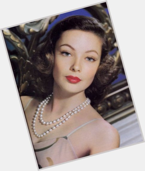 Gene Tierney Official Site For Woman Crush Wednesday Wcw