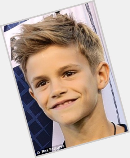 Remarkable Romeo Beckham Official Site For Man Crush Monday Mcm Woman Short Hairstyles For Black Women Fulllsitofus