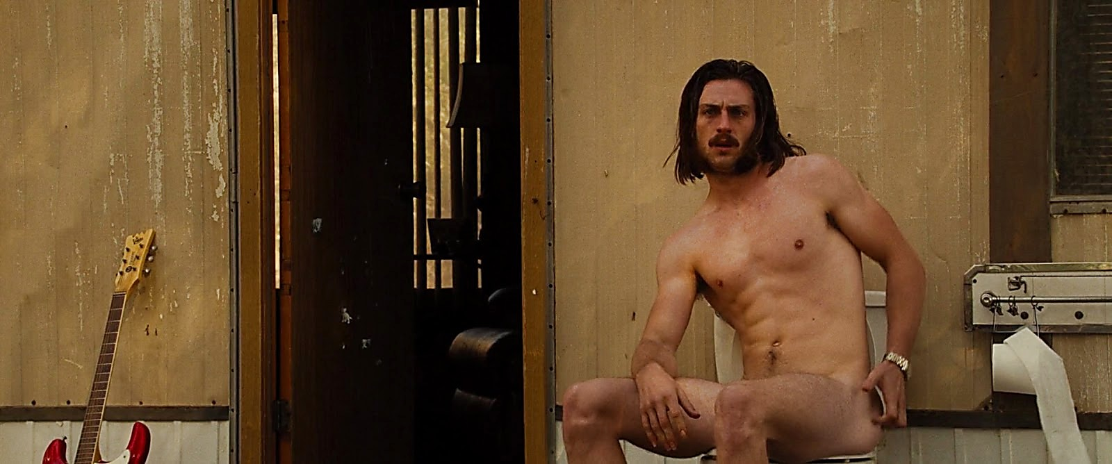 Aaron Taylor Johnson sexy shirtless scene February 7, 2017, 10am