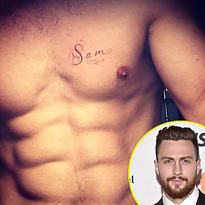 Aaron Taylor Johnson latest sexy shirtless March 4, 2017, 6pm