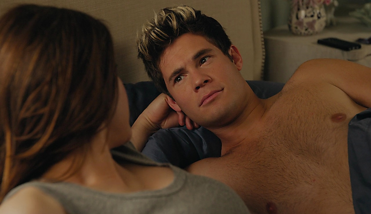 Adam Devine sexy shirtless scene February 9, 2018, 12pm