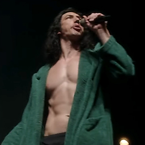 Adam Driver latest sexy shirtless April 19, 2021, 6pm
