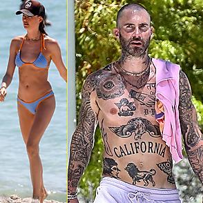 Adam Levine latest sexy shirtless July 3, 2021, 3pm