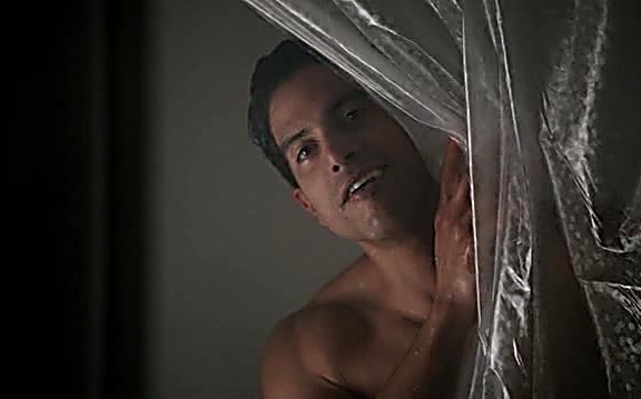 Adam Rodriguez sexy shirtless scene July 21, 2014, 1pm