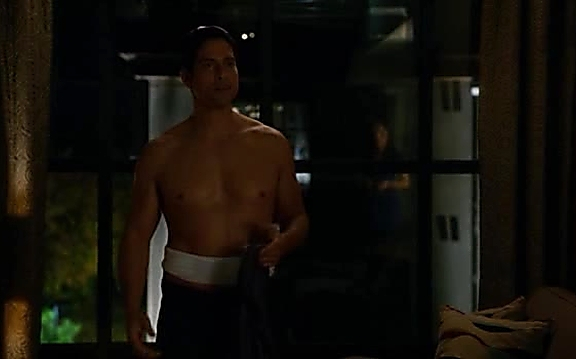 Adam Rodriguez sexy shirtless scene September 7, 2014, 3pm