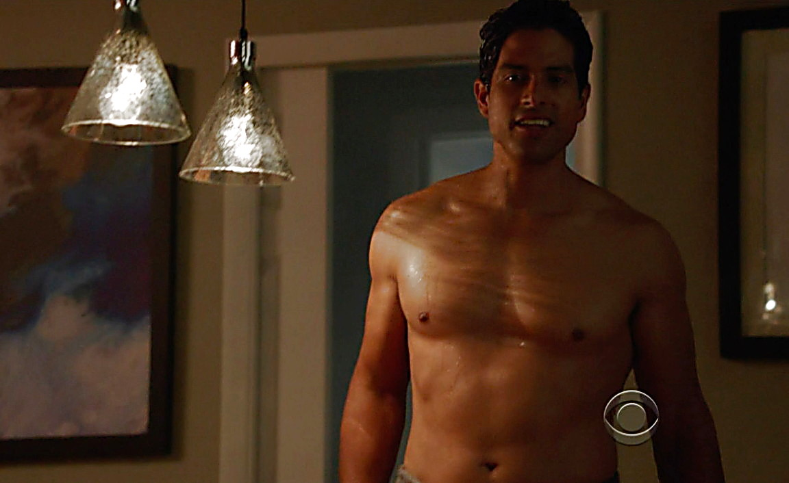 Adam Rodriguez sexy shirtless scene August 2, 2014, 8pm