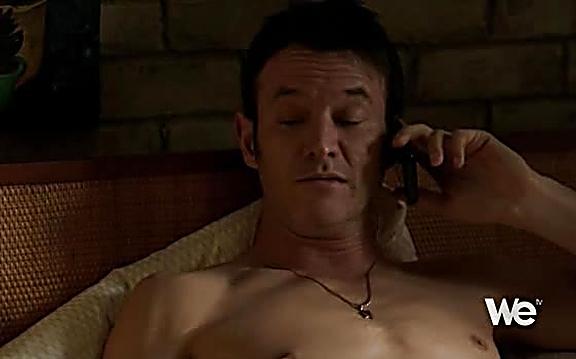 Adam Rothenberg sexy shirtless scene July 21, 2014, 1pm