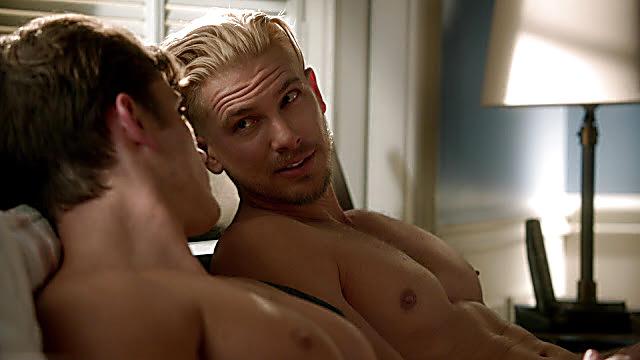 Adam Senn sexy shirtless scene December 29, 2020, 1pm