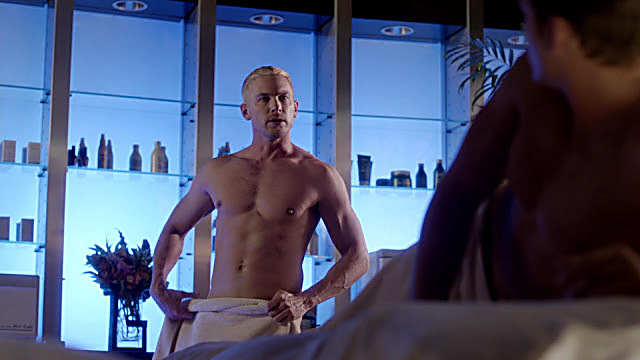 Adam Senn sexy shirtless scene December 29, 2020, 2pm