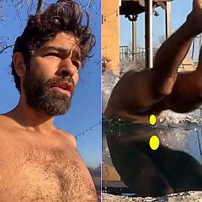 Adrian Grenier latest sexy shirtless January 14, 2021, 9am