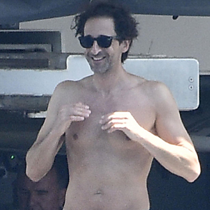 Adrien Brody latest sexy shirtless August 6, 2019, 8pm