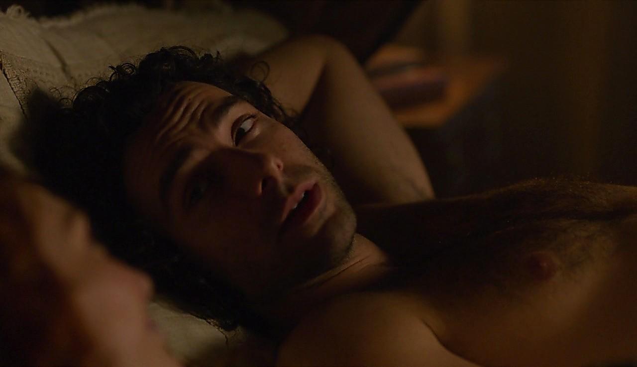 Aidan Turner sexy shirtless scene June 19, 2017, 5am