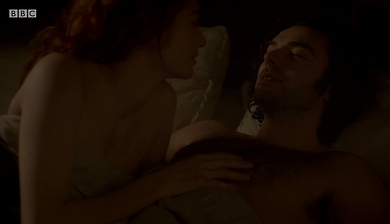Aidan Turner sexy shirtless scene July 24, 2017, 11am