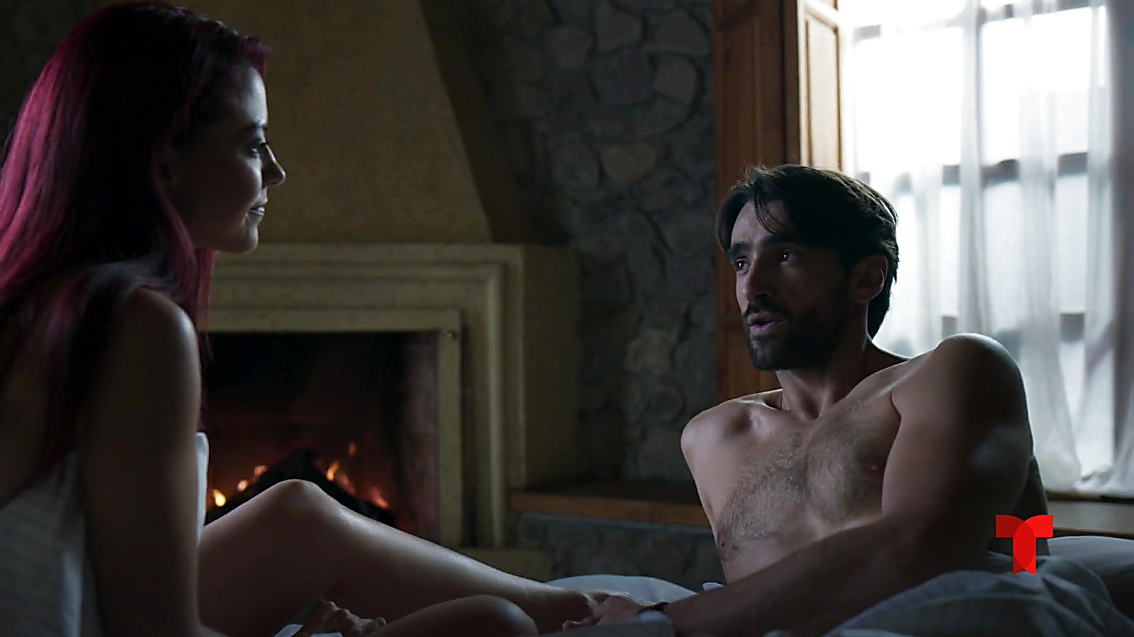 Aitor Luna sexy shirtless scene July 2, 2020, 5am