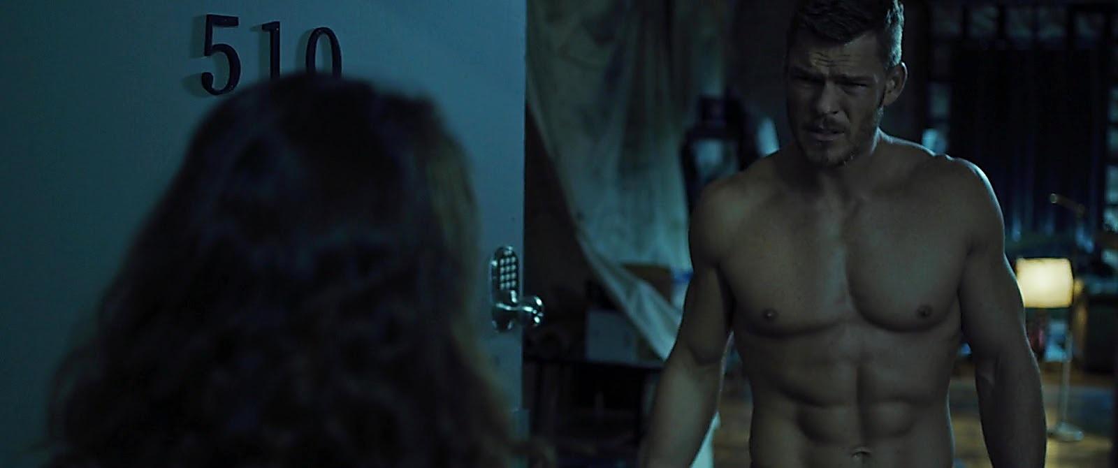 Alan Ritchson sexy shirtless scene July 19, 2019, 1pm