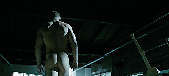 Alan Ritchson sexy shirtless scene August 13, 2021, 1am
