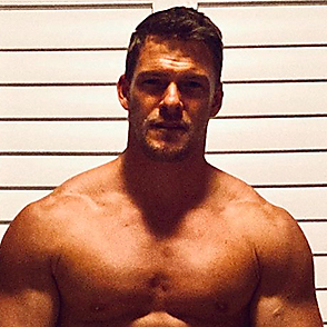 Alan Ritchson latest sexy shirtless October 22, 2020, 9pm