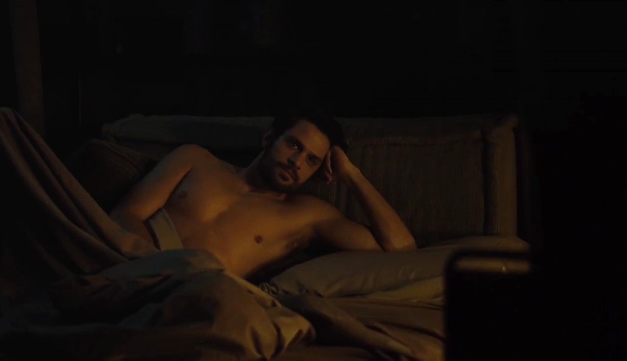 Alejandro Claveaux sexy shirtless scene October 3, 2017, 3am