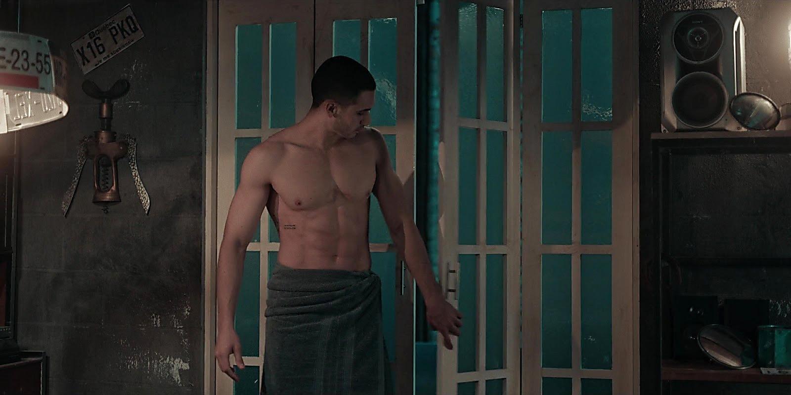 Alejandro Speitzer sexy shirtless scene July 16, 2020, 9am