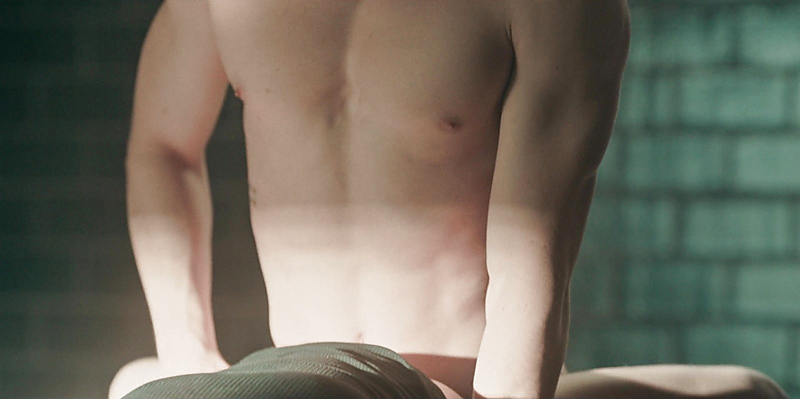 Alejandro Speitzer sexy shirtless scene July 19, 2020, 5am