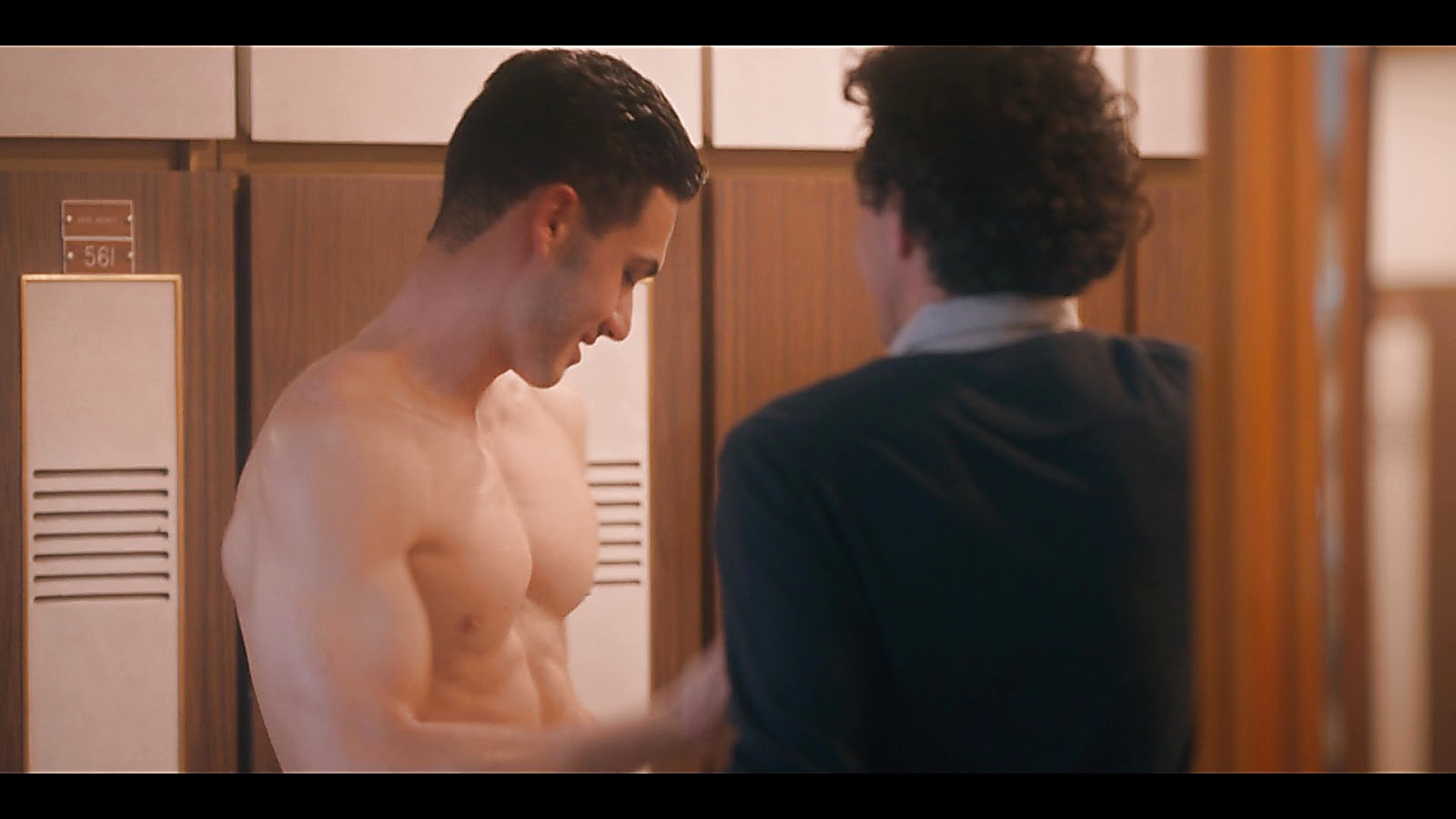 Alejandro Speitzer sexy shirtless scene November 18, 2019, 1pm