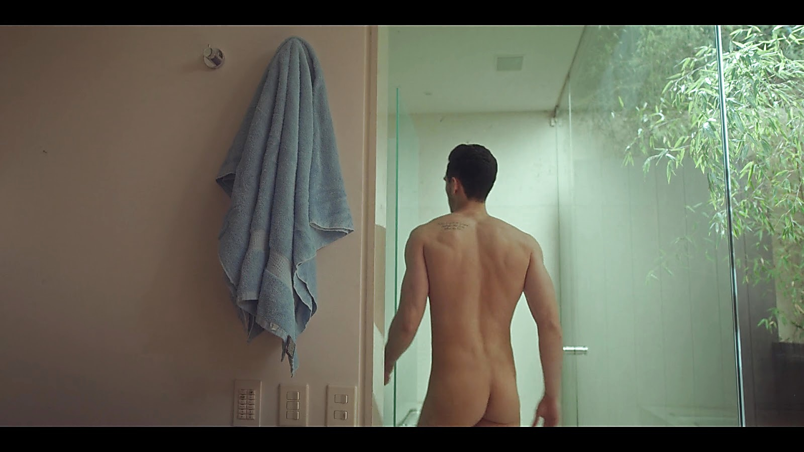 Alejandro Speitzer sexy shirtless scene November 19, 2019, 3pm