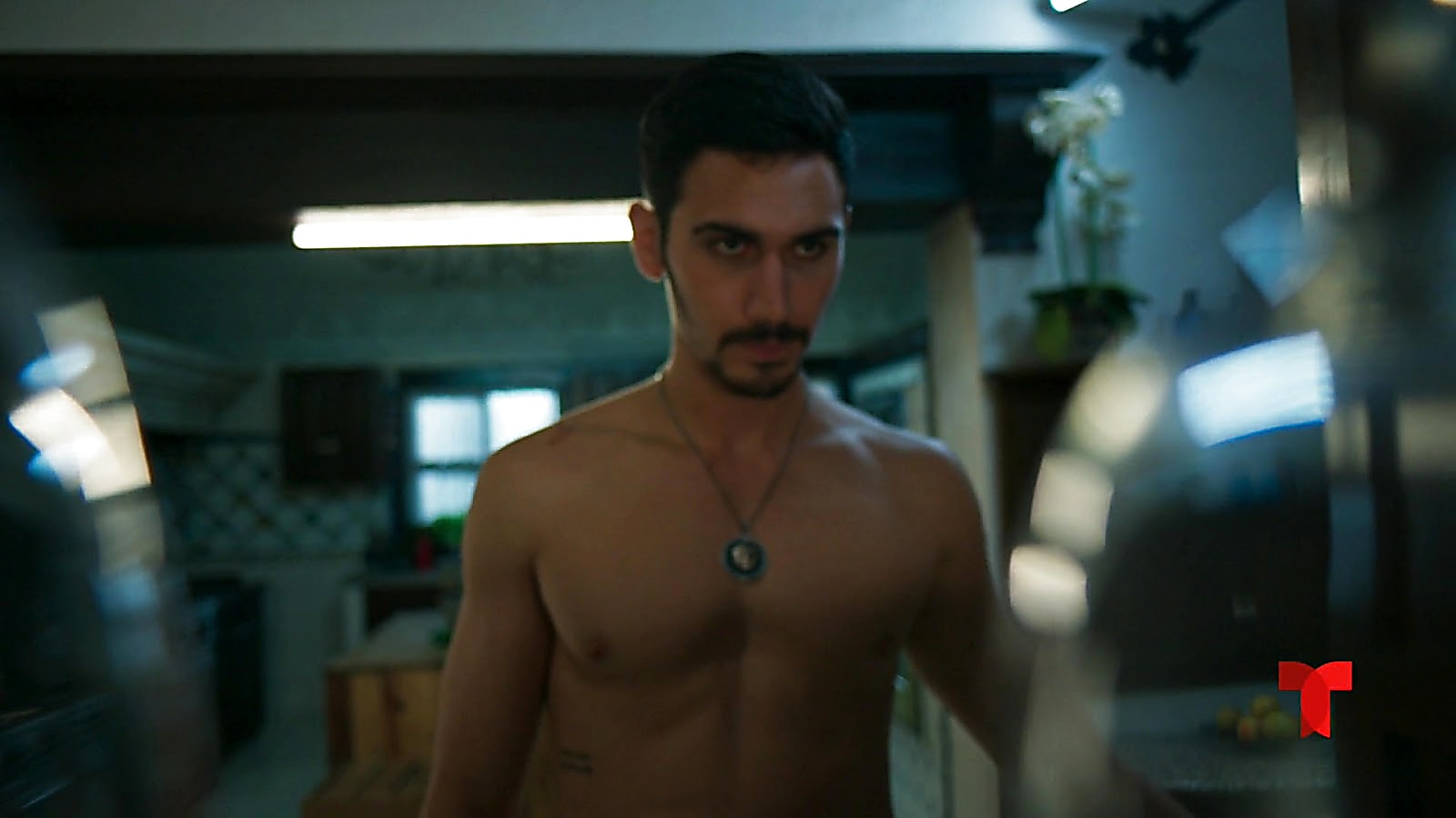 Alejandro Speitzer sexy shirtless scene July 3, 2020, 7am