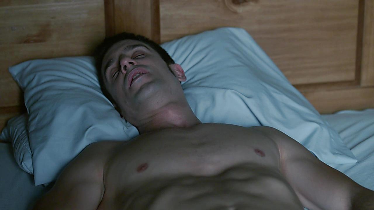 Alejo Sauras sexy shirtless scene November 16, 2019, 12pm