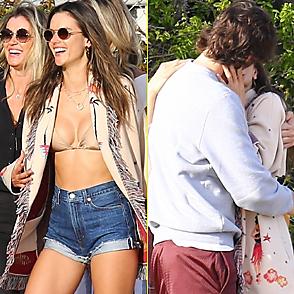 Alessandra Ambrosio latest sexy shirtless April 8, 2019, 2am