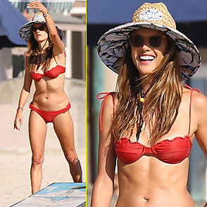 Alessandra Ambrosio latest sexy shirtless August 1, 2020, 8pm
