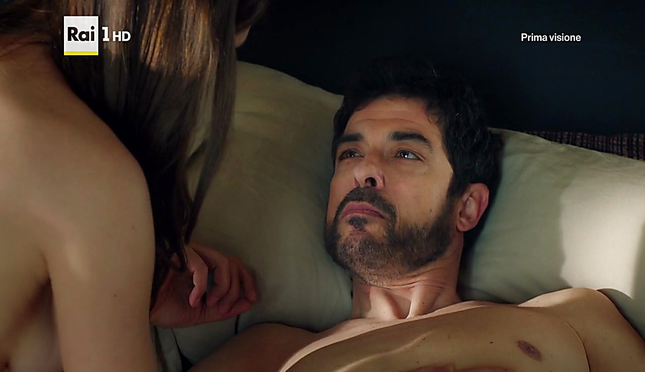Alessandro Gassman sexy shirtless scene February 20, 2017, 12pm