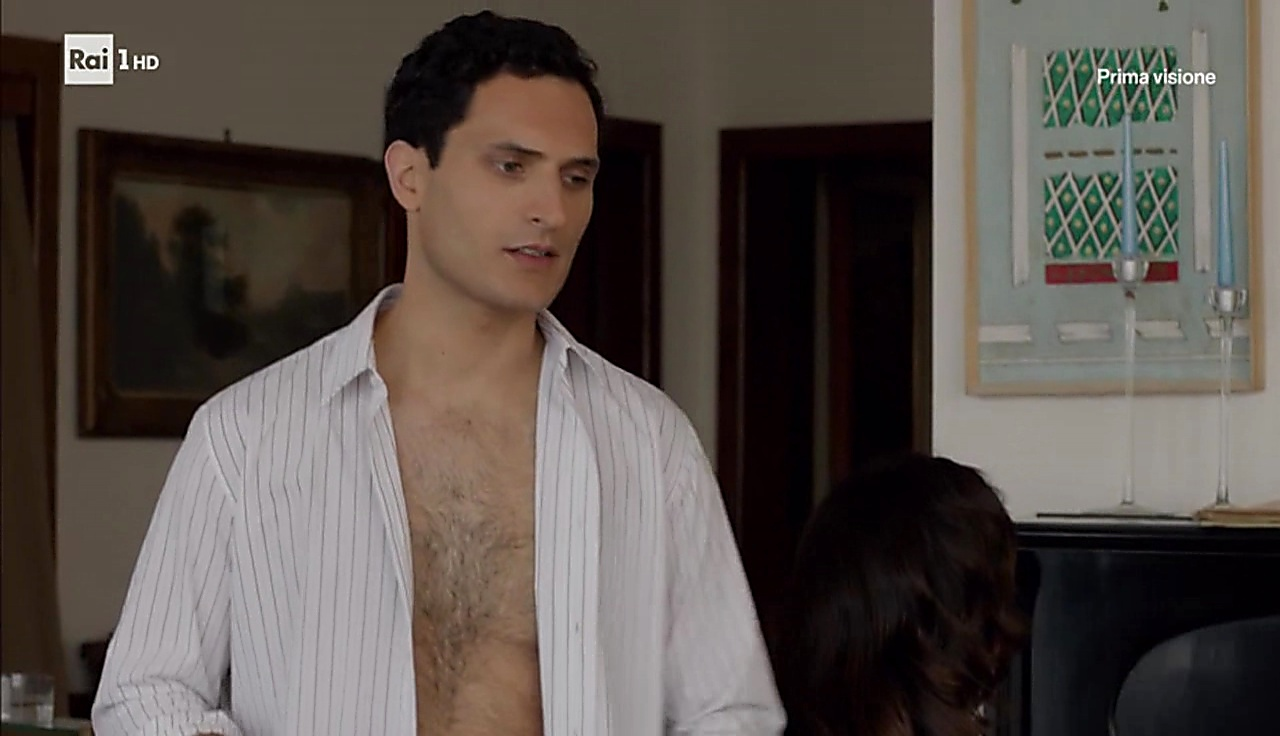 Alessandro Tersigni latest sexy shirtless scene September 12, 2017, 12pm