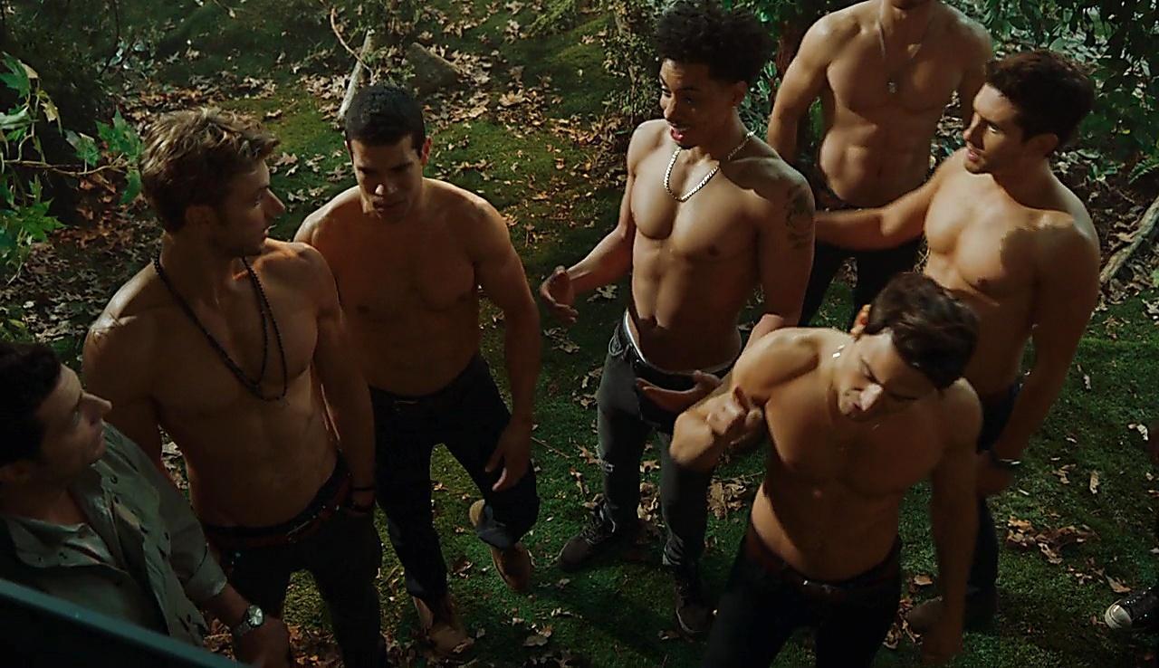 Alex Hernandez sexy shirtless scene April 3, 2018, 1pm