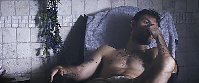 Alex Pettyfer sexy shirtless scene August 13, 2021, 8am