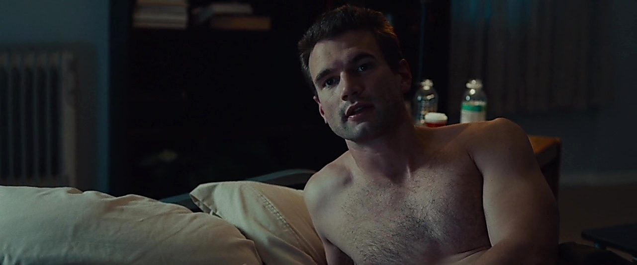 Alex Russell sexy shirtless scene December 2, 2018, 10am