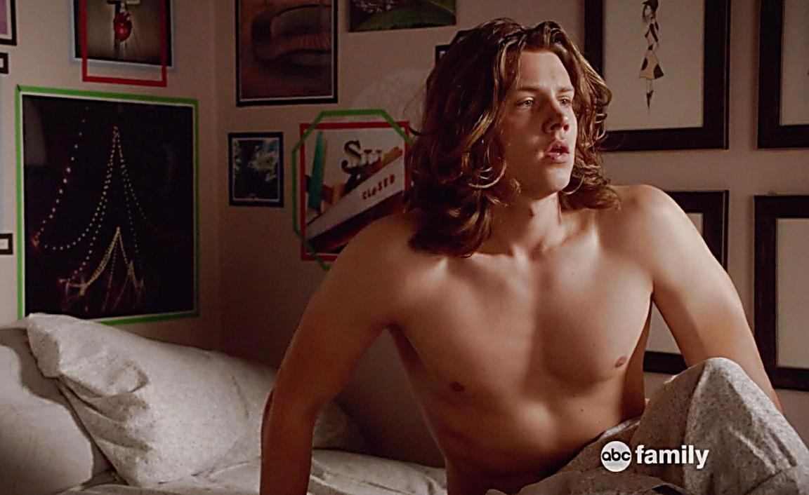 Jake T Austin sexy shirtless scene August 2, 2014, 6pm
