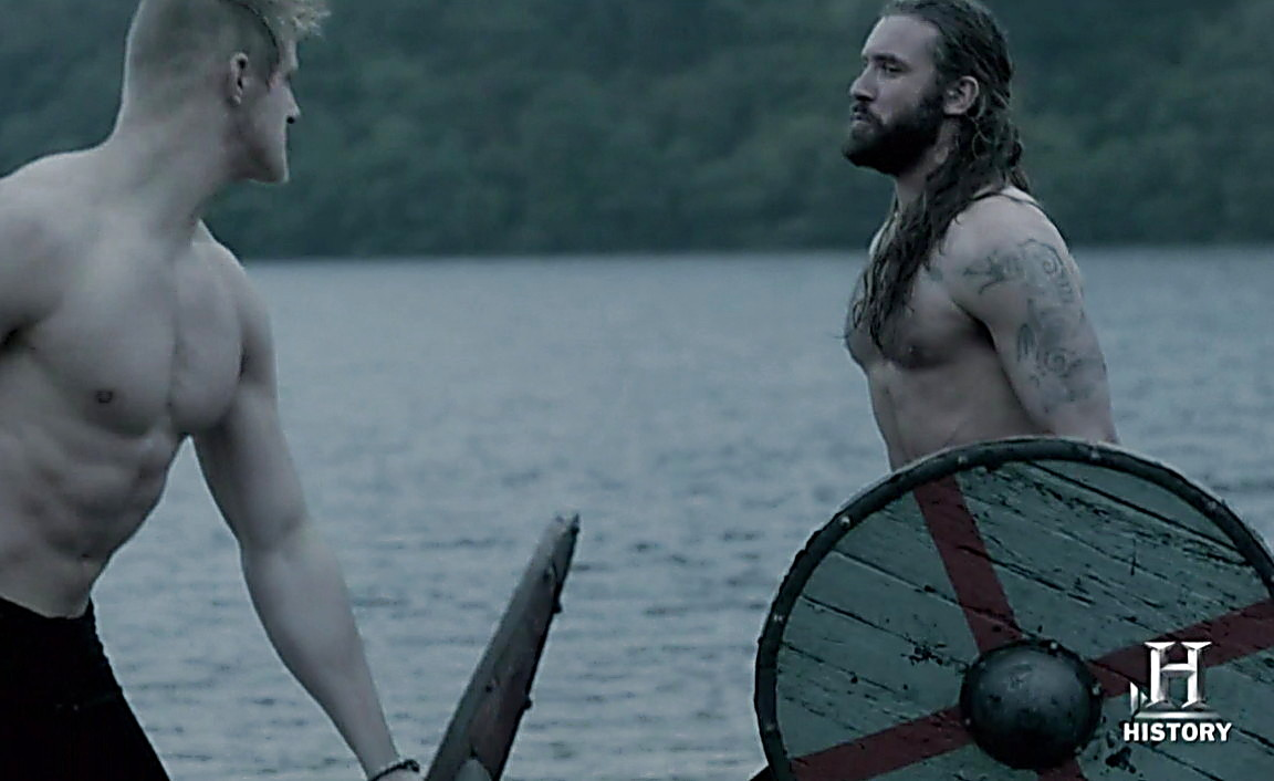 Clive Standen sexy shirtless scene May 15, 2014, 6pm