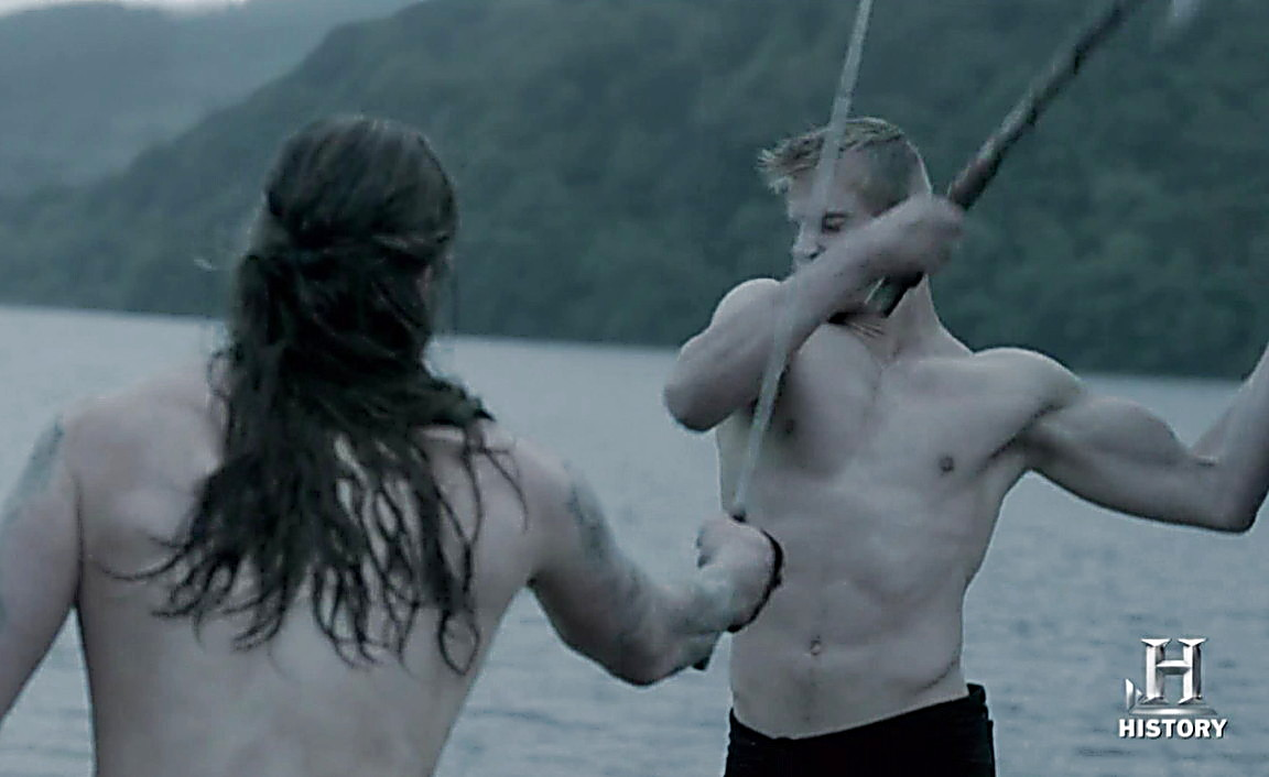 Alexander Ludwig sexy shirtless scene May 15, 2014, 6pm
