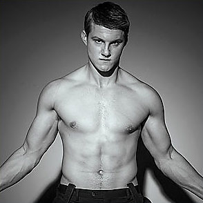 Alexander Ludwig latest sexy shirtless August 12, 2015, 10am