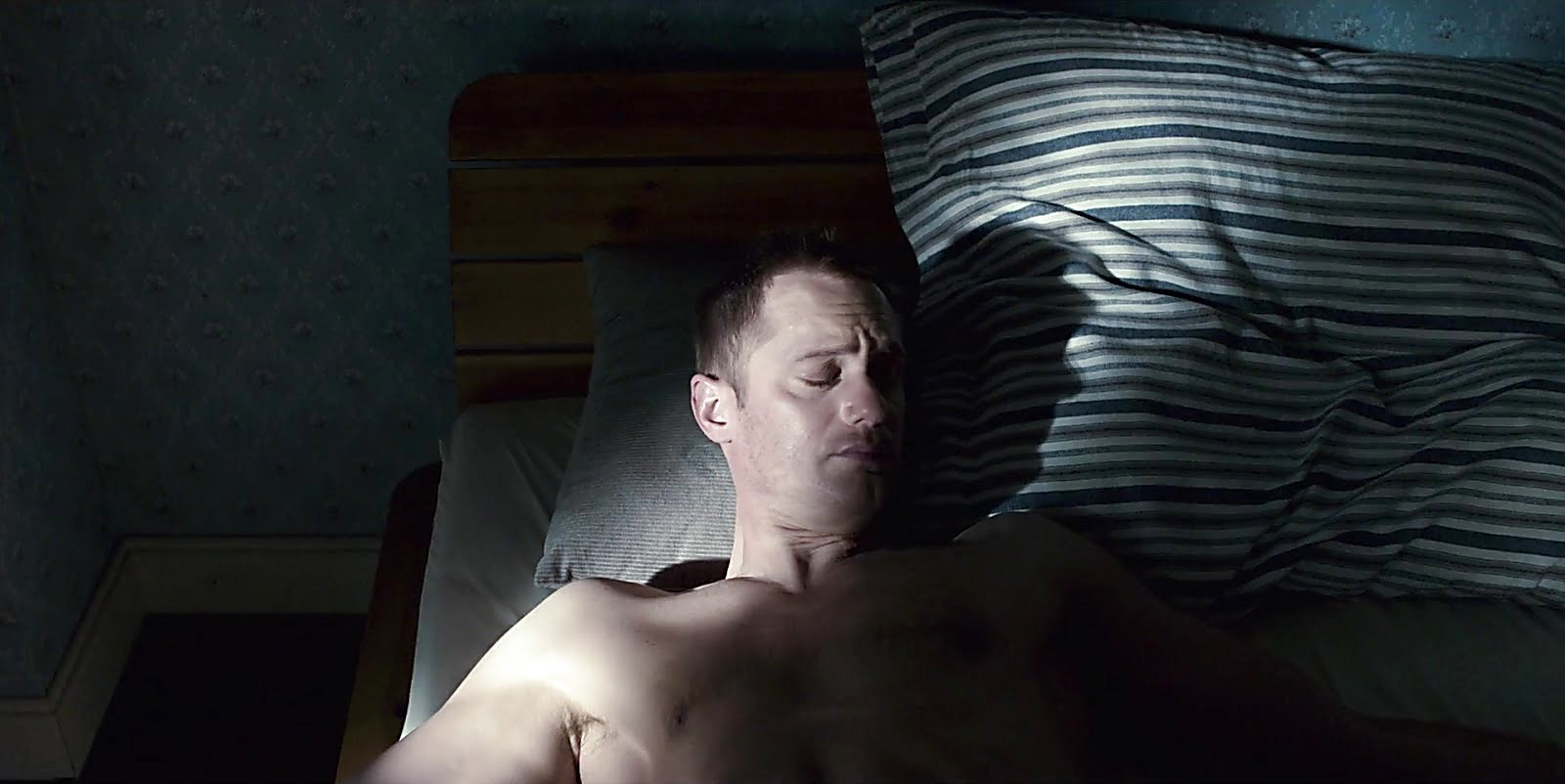 Alexander Skarsgard latest sexy shirtless scene February 24, 2018, 12pm