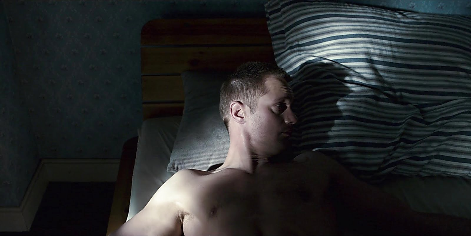 Alexander Skarsgard sexy shirtless scene February 24, 2018, 12pm