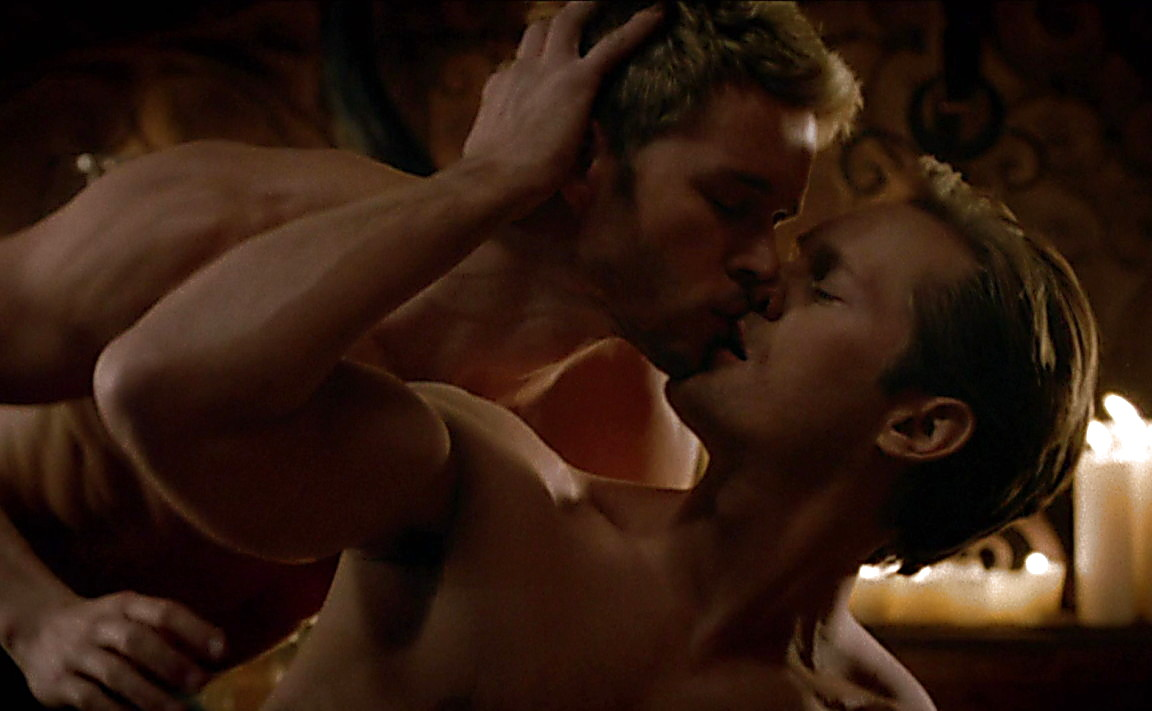 Ryan Kwanten sexy shirtless scene June 29, 2014, 10pm